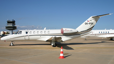 OK-PBK - Cessna 525 Citationjet CJ3 - Queen Air