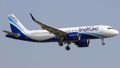 A picture of VTIJU - Airbus A320271N - IndiGo - © Aneesh Bapaye