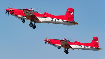 A-912 - Pilatus PC-7 - Switzerland - Air Force