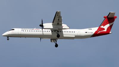 A picture of VHQOR - De Havilland Canada Dash 8400 - Qantas - © Daniel Benefield