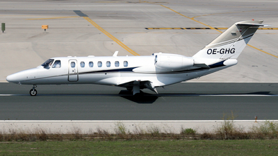 OE-GHG - Cessna 525B CitationJet 3 - Salzburg Jet Aviation