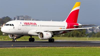 A picture of ECKKS - Airbus A319111 - Iberia - © Alberto Maroto - LCG Spotters