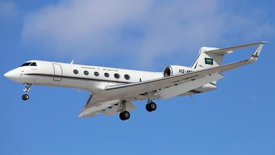 HZ-MS5A - Gulfstream G-V - Saudia Medevac