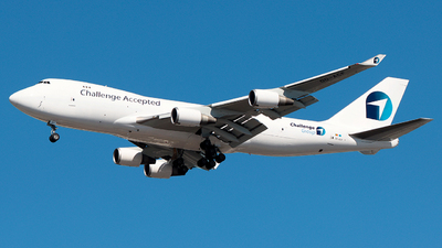 A picture of OOACF - Boeing 7474EVF(ER) - Challenge Airlines - © Misael Ocasio Epicaviation47