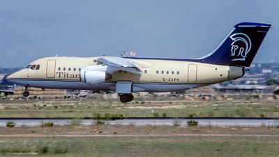 G-ZAPK - British Aerospace BAe 146-200(QC) - Titan Airways