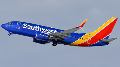 A picture of N7738A - Boeing 7377BD - Southwest Airlines - © Michael Place