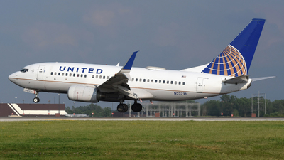 A picture of N23721 - Boeing 737724 - United Airlines - © DJ Reed - OPShots Photo Team