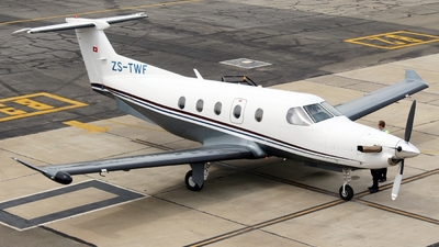 ZS-TWF - Pilatus PC-12/47E - Private