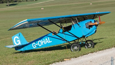 G-OHAL - Pietenpol Gn-1 Aircamper - Private