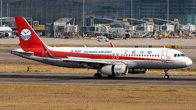 A picture of B1822 - Airbus A320232 - Sichuan Airlines - © miCHAel TAN