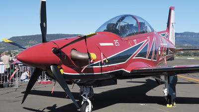 A picture of A54025 - Pilatus PC21 -  - © George Canciani