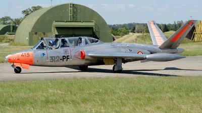F-AZPZ - Fouga CM-170 Magister - Private