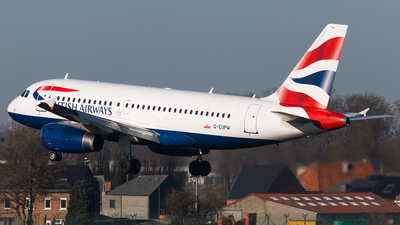 G-EUPW - Airbus A319-131 - British Airways