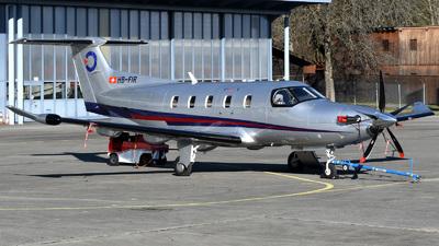 A picture of HBFIR - Pilatus PC12 NGX - [2008] - © Mirko Bleuer