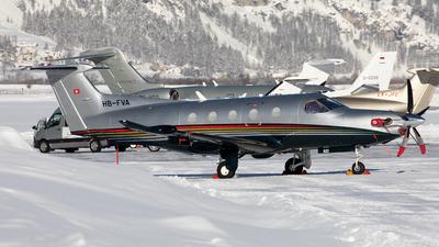 A picture of HBFVA - Pilatus PC12/47 - [833] - © Alexandre Fazan