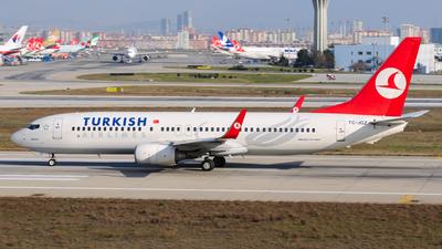 TC-JGZ - Boeing 737-8F2 - Turkish Airlines