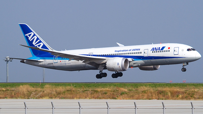 JA835A - Boeing 787-8 Dreamliner - All Nippon Airways (ANA)