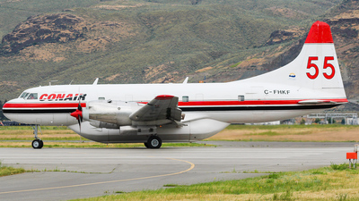 C-FHKF - Convair CV-580 - Conair Aviation
