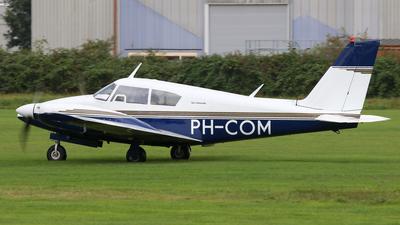 PH-COM - Piper PA-30-160 Twin Comanche - Aero Club - Dutch Airline Pilots