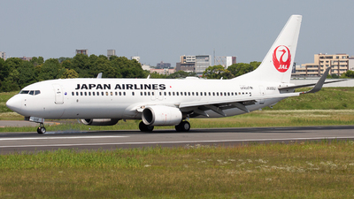 A picture of JA308J - Boeing 737846 - Japan Airlines - © Tokubee