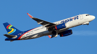 N626NK - Airbus A320-232 - Spirit Airlines