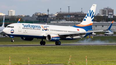 A picture of TCSEO - Boeing 7378HC - SunExpress - © Grzesiek Krupa