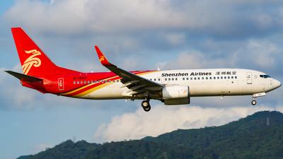 B-1993 - Boeing 737-87L - Shenzhen Airlines