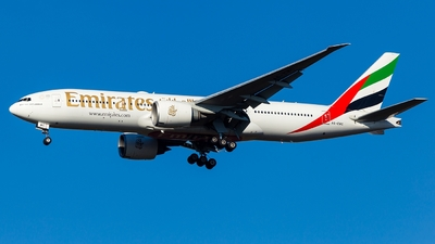 A picture of A6EWC - Boeing 77721H(LR) - Emirates - © Simi