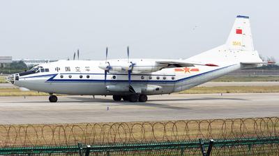 55415 - Shaanxi Y-8C - China - Air Force