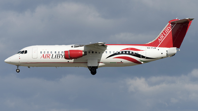 5A-FLM - British Aerospace Avro RJ100 - Air Libya