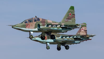 RF-93616 - Sukhoi Su-25 Frogfoot - Russia - Air Force