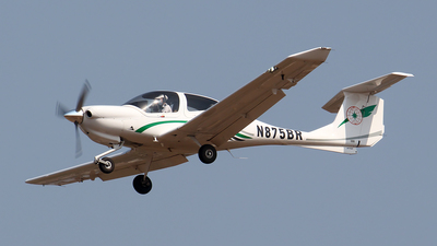 N875BR - Diamond DA-40 Diamond Star - EVA Flight Training Academy