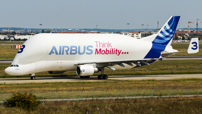 F-GSTC - Airbus A300B4-608ST Super Transporter - Airbus Transport International