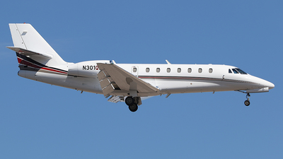N301QS - Cessna 680 Citation Sovereign - NetJets Aviation
