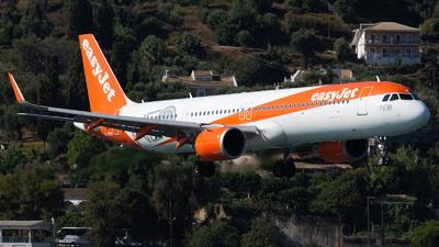 G-UZMA - Airbus A321-251NX - easyJet