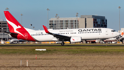 A picture of VHVZH - Boeing 737838 - Qantas - © Nicholas Kimura