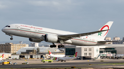 A picture of CNRGC - Boeing 7878 Dreamliner - Royal Air Maroc - © Rui Sequeira