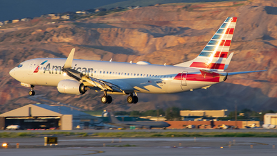 A picture of N358PW - Boeing 737823 - American Airlines - © Michael Rodeback
