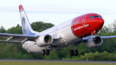 EI-FVL - Boeing 737-8MG - Norwegian