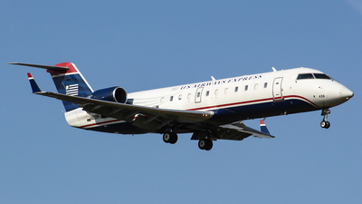N438AW - Bombardier CRJ-200LR - US Airways Express (Air Wisconsin)