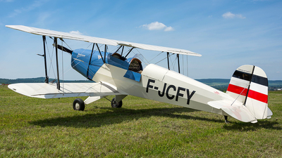 F-JCFY - B & F Technik FK-131 Jungmann - Private