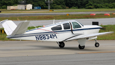 N8834M - Beechcraft S35 Bonanza - Private