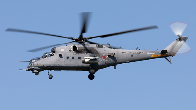 RF-13013 - Mil Mi-35M Hind - Russia - Air Force