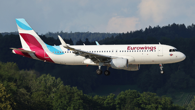 A picture of DAEWQ - Airbus A320214 - Eurowings - © Tomasz Habaj