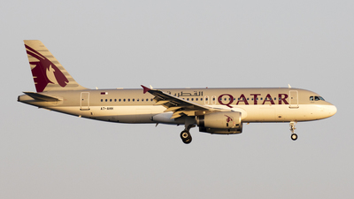 A7-AHH - Airbus A320-232 - Qatar Airways