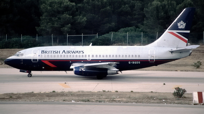 G-BGDS - Boeing 737-236(Adv) - British Airways