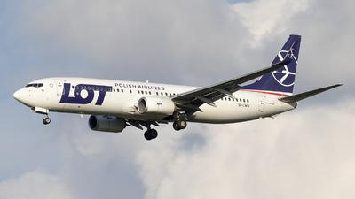 A picture of SPLWG - Boeing 73786N - LOT - © RAFAL KUKOWSKI