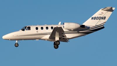 N800NB - Cessna 525 Citation CJ1 - Private