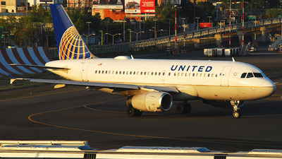 N842UA - Airbus A319-131 - United Airlines