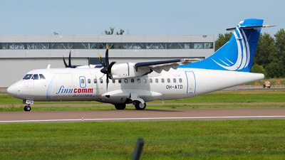 OH-ATD - ATR 42-500 - Finncomm Airlines